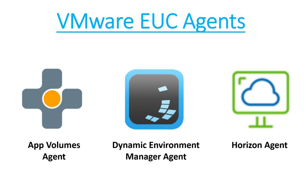 VMware EUC Agents Install